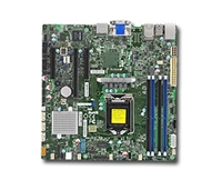 Supermicro MBD-X11SSZ-QF Motherboard LGA 1151 Core Boards Socket H4 Supports 1x GbE LAN w/ Intel® i210-AT and Intel® PHY i219LM 4x SATA3 via Q170 Full Warranty