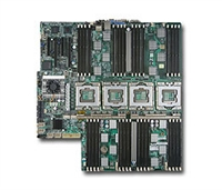 Supermicro MBD-X8QB6-F Quad LGA1567 Sockets Dual-Port GbE Controller SATA2 and SAS Controller raid 50,60 available Integrated IPMI 2.0 with Dedicated Lan Integrated Matrox Graphics Full Warranty