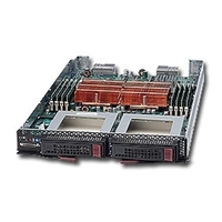Supermicro Processor Blade SBA-7121M-T1 2-Way Opteron 2400 Socket-F Six-Core DDR2 2x3.5-in SATA2 Hot-Swap IPMI GbE VGA Black