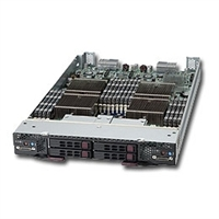 Supermicro Superblade Server SBI-7226T-T2 Barebone 4 LGA 1366 Sockets 4x 2.5'' hot-plug SATA Drive Bays 2x Dual-port Gigabit Ethernet Matrox G200eW graphics IPMI 2.0 Mellanox ConnectX QDR Infiniband 40Gbps or 10GbE support(optional) Full Warranty