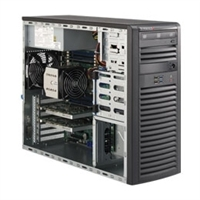 "Supermicro Mid-Tower SuperServer SYS-5037A-i Single socket R (LGA 2011) supports Intel Xeon processor E5-2600/1600 Intel 82579LM and 82574L,2x GbE LAN Ports 4x 3.5"" SATA3 HDD bays  900W Gold Level Power Supply