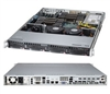 "Supermicro 1U Server SYS-6017R-TDF+ Barebone LGA 2011 Dual socket R supports Intel Xeon processor E5-2600  Intel® i350 Dual port  GbE 4x 3.5"" Hot-swap SATA HDD Bays SATA 2.0 RAID 0, 1, 5, 10 600W High-efficiency power supply Full Warranty"