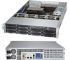 Supermicro Superserver SYS-6027AX-TRF 2U DP Xeon E5-2600 LGA2011 8-Core DDR3 10x3.5-in SATA3 Hot-Swap R1280W