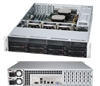 Supermicro Superserver SYS-6027R-72RF 2U DP Xeon E5-2600 LGA2011 8-Core DDR3 8x3.5-in SAS/SATA3 Hot-Swap R740W