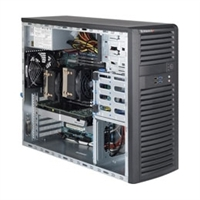"Supermicro Mid-Tower SuperServer SYS-7037A-iL Dual socket B2 (LGA 1356) supports Intel Xeon processor E5-2400 v2 Intel® C602 chipset 4x Fixed 3.5"" Drive Bays Optional 4x Fixed 2.5"" SATA2/3 HDD Bays 500W High Efficiency Power Supply Full Warranty"