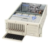 Supermicro 4U Tower Black Server SYS-7044H-X8RB Barebone Dual 604-pin FC-mPGA4 Sockets 8x3.5'' Hot-swap drive bays Zero Channel RAID Support Dual Gigabit Ethernet Controller Triple-Redundant 760W power supply Remote Management Full Warranty