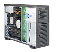 Supermicro SYS-7048A-T SuperServer (Black) Full Warranty
