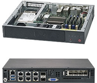 Supermicro E300-9A Embedded Networking Applications, IoT Server, Network Security Appliance, Firewall Applications, Virtualization