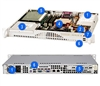 Supermicro 1U mini Server Thermal control 260watts with PFC Low-noise Fan control LGA 775 ZIF Intel Xeon Quad-Core 2.13GHz 8MB Cache Server Processor 8GB ECC RAM 2TB SATA 7200RPM Dual Intel Gigabit Ethernet Controllers IPMI 2.0 FREE GROUND SHIPPING