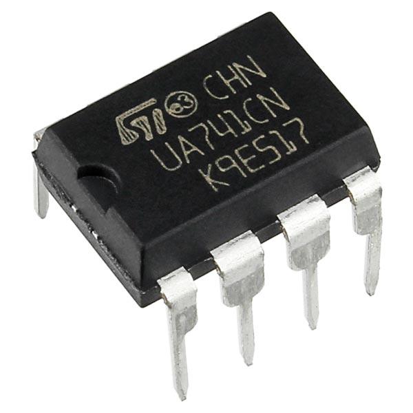 Addicore UA741 Operation Amplifier (Op-Amp)