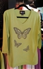 Christine Alexander Green Butterfly Sweater