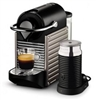 BREVILLE BEC400XT PIXIE BUNDLE NESPRESSO COFFEE MACHINE - TITAN - WITH BONUS!