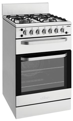 CHEF CFG517SA 54CM GAS UPRIGHT OVEN STAINLESS STEEL
