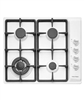 FISHER & PAYKEL CG604CWW1 60CM GAS ON STEEL COOKTOP