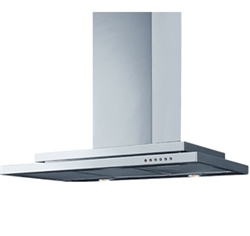 EURO APPLIANCES EGMU9SS 90CM STRAIGHT CANOPY RANGEHOOD S/STEEL