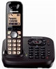 PANASONIC KXTG6561ALT DECT CORDLESS PHONE WITH BASE DIAL & ANSWERING MACHINE