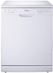 EURO APPLIANCES PR60DWH PRIMERA 6 WASH PROGRAM DISHWASHER