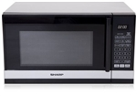 SHARP R240YS COMPACT 800W MICROWAVE WITH 9 INSTANT ACTION MENUS