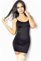 black_bodycon_seamless_mini_dress