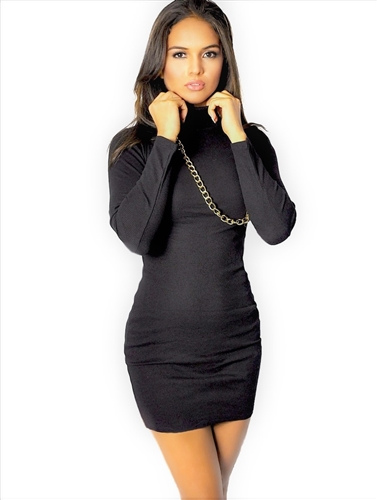 black_turtleneck_mini_dress