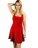Red_fit_and_flare_skater_dress