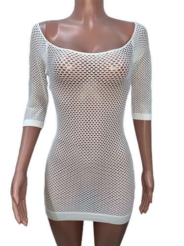 sexy_white_seamless_net_tunic_tops