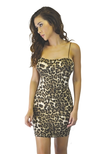 sexy_leopard_print_mini_body_con_dresses