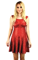 red_sequin_mesh_party_dress