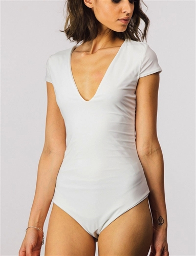 white_stretchy_plunge_bodysuit