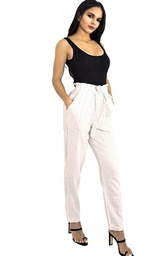 high_waisted_stripe_print_paper_bag_pants_slacks