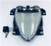 2006-2013 Suzuki Boulevard M109R Clear Alternatives Clear Tail Light - LED with Integrated Signals