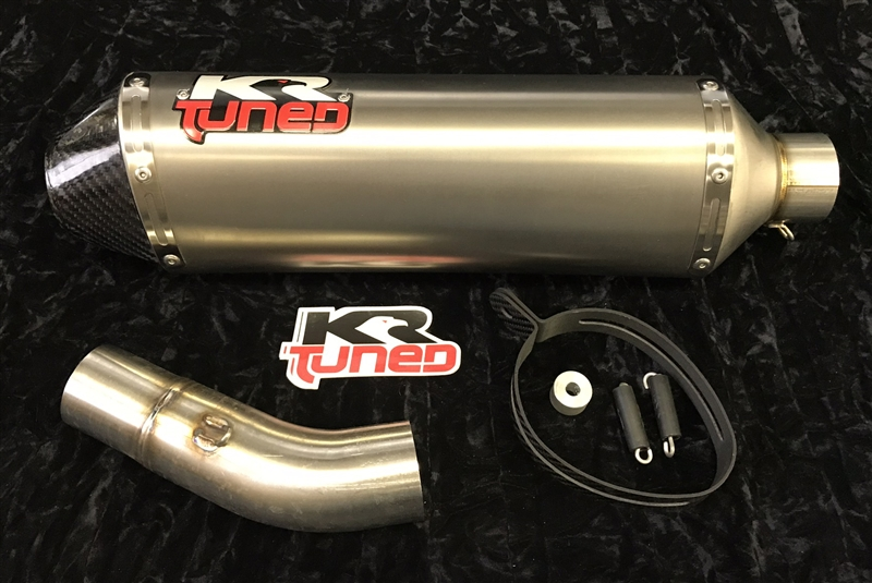 2008 2009 Kawasaki ZX10R KR Tuned SLIP On Exhaust System