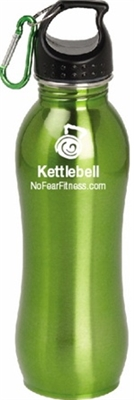 Kettlebell Water Bottle-Green