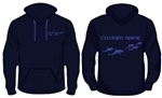 Wimbledon Dolphins Personalised Hoodie (Junior Sizes)