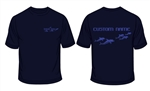 Wimbledon Dolphins Personalised Sports T-shirt  (Classic Fit - Adult Sizes)