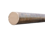"CUT TO LENGTH - C67300 Manganese Bronze Solid Bar| 2-1/4"" O.D."