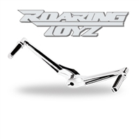 Billet Heel Toe Shift Levers Chrome Plated Harley Touring Models Bagger Street Glide Road King Electraglide Ultra Classic Softail Fat Boy Softtail FLTR FLHX FLHT FLST 2013 2012 2011 2010 2009 2008 2007 Foot Control