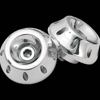 RSD Combat Chrome Plated Cut R1 R6 Bar Ends