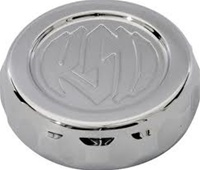 Rear RSD Combat Brake Reservoir Cap Chrome Plated