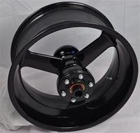 Black  Factory Match 18x8.5 240 Rear Wheel