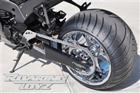 330 OSD 2011 2012 2013 2014 2015 Kawasaki Ninja ZX10 ZX10R Wide Tire Swingarm Conversion Kit 330 Wheel Custom Extended Arm Roaring Toyz 11 12 13 Fat outside drice no Jackshaft Great Performance and Reliability
