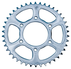40 Tooth R.C. Components Steel Chrome 530 Rear Sprocket