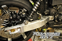 Harley Davidson Custom Dyna Aluminum Swingarm Billet CNC Machined Super Glide Low Rider Wide Glide Switch Back Fat Bob FX FXD 180 tire conversion