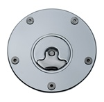 Suzuki 3 Hole Gas Cap Chrome Plated