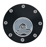 Kawasaki Gas Cap 3 Hole Black Anodized