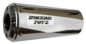 Roaring Toyz 2008-2018  Hayabusa Polished Stainless Bolt On Exhaust Cans