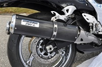Roaring Toyz 2008-2018 Hayabusa Carbon Fiber Bolt On Exhaust