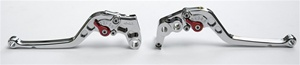 Hayabusa Adjustable Chrome Plated Lever Set