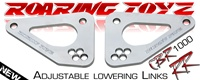 2008 2009 2010 2011 2012 2013 2014 Honda CBR 1000RR Roaring Toyz Billet 4 Hole Lowering Links