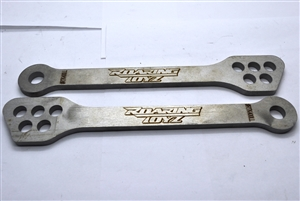 Ninja 300R 2013 2014 2015 2016 Lowering Links 5 Hole Black Anodized Contrast Fits Kawasaki Ninja EX300 EX300R 13 14 15 16
